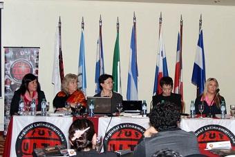 Laura Sasprizza Fue Electa Coordinadora Del Comité Latinoamericano De La Mujer De La UITA Para Latinoamérica