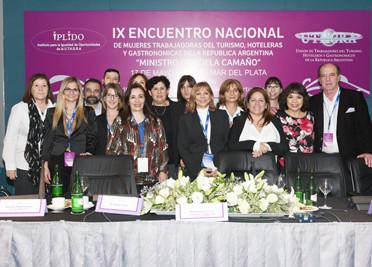 """Documento Final Del IXº Encuentro Nacional De Mujeres Trabajadoras Del Turismo, Hoteleras Y Gastronómicas De La República Argentina """"Ministro Graciela Camaño"""""""