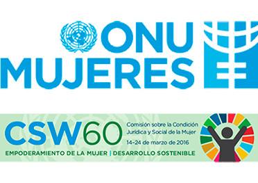 """""""CSW60"""". 60° Comisión De La Condición Jurídica Y Social De La Mujer En La Sede De Las Naciones Unidas En Nueva York"""