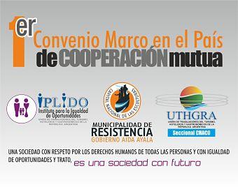 EL IPLIDO FIRMO CONVENIO DE COOPERACIÓN CON LA MUNICIPALIDAD DE LA CIUDAD DE RESISTENCIA, CHACO