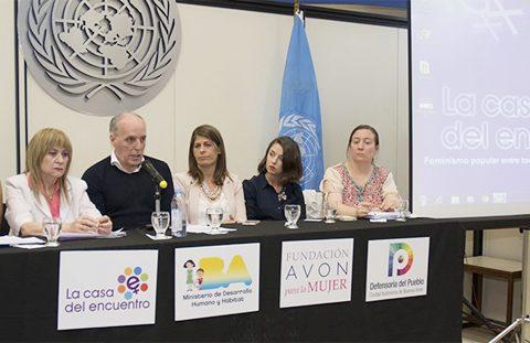 """Nuestro IPLIDO De La UTHGRA Estuvo Presente En La Presentación Del """"Observatorio De Femicidios En Argentina – La Casa Del Encuentro"""""""