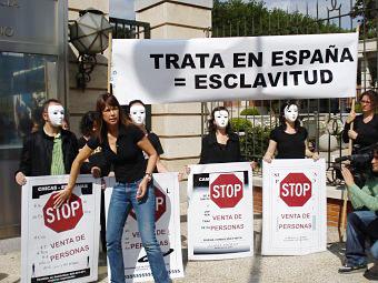 Trata de personas en España