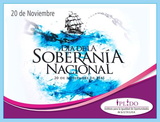 20 de noviembre. Día de la Soberanía Nacional