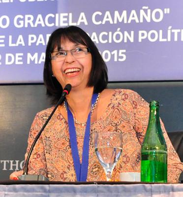 2° Edición Premio Mujer Trabajadora 2015 Para Marcela Fabiana Martínez