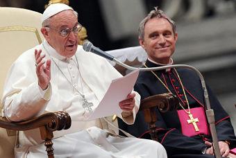 """El Papa, contra """"la lógica del poder"""""""
