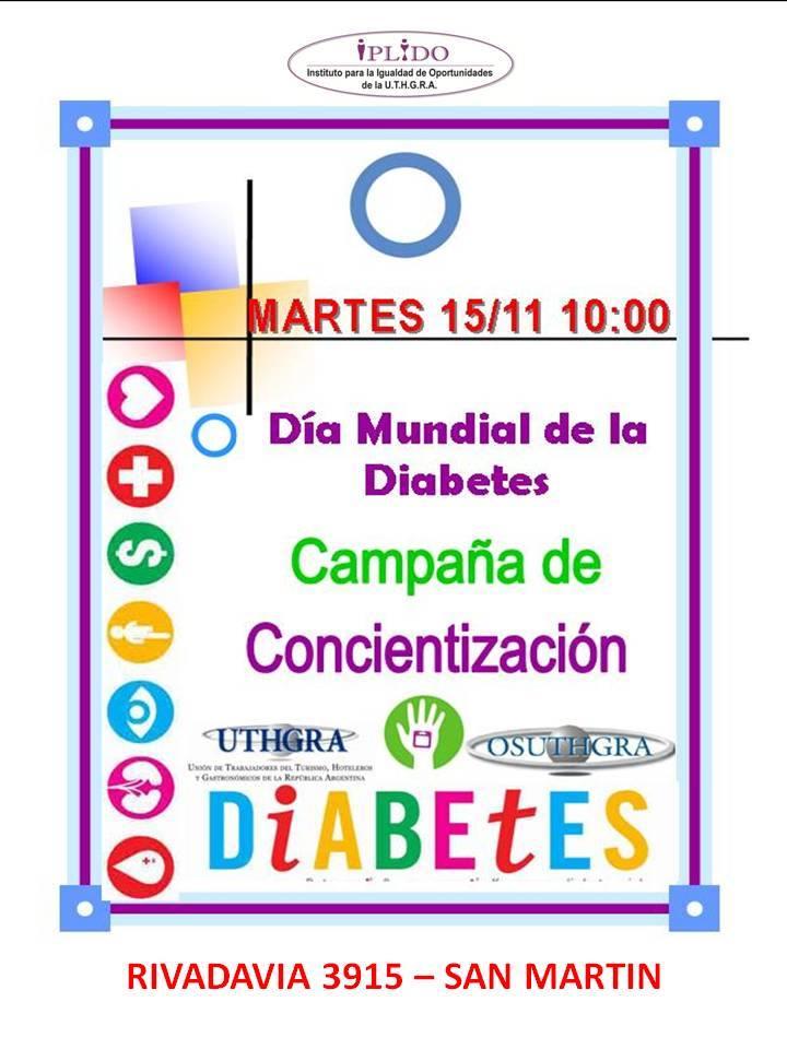 Campaña de Concientización por el Día Mundial de la Diabetes