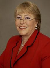Mensaje de Michelle Bachelet