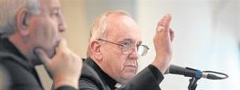 Bergoglio criticó a los políticos que usan el poder en su provecho