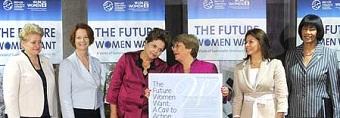 Cumbre de Mandatarias: Priorizan la Igualdad de Género como elemental para el desarrollo sustentable