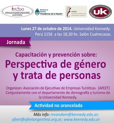 Capacitación Y Prevención Sobre Perspectiva De Género Y Trata De Personas