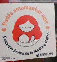 Las madres tienen espacio para amamantar en los comercios gastronómicos de Berazategui