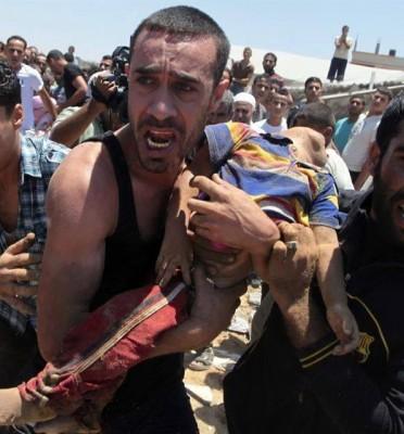 Más de 500 Palestinos muertos en la ofensiva Israelí en Gaza