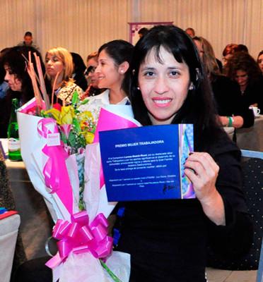 2° Edición Premio Mujer Trabajadora 2015 Para Lorena Beatriz Rossi