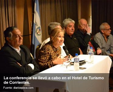 De Visita En Corrientes, Graciela Camaño Reclamó Que La AUH Se Discuta En El Congreso