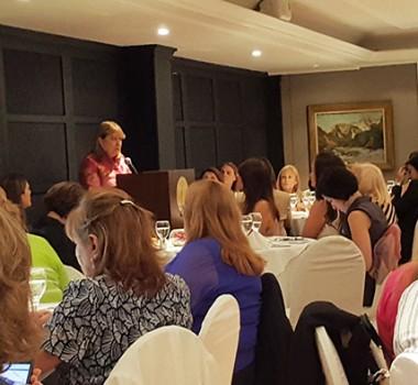 Almuerzo Del Foro Argentino De Mujeres Ejecutivas -FAME- Con La Canciller Susana Malcorra