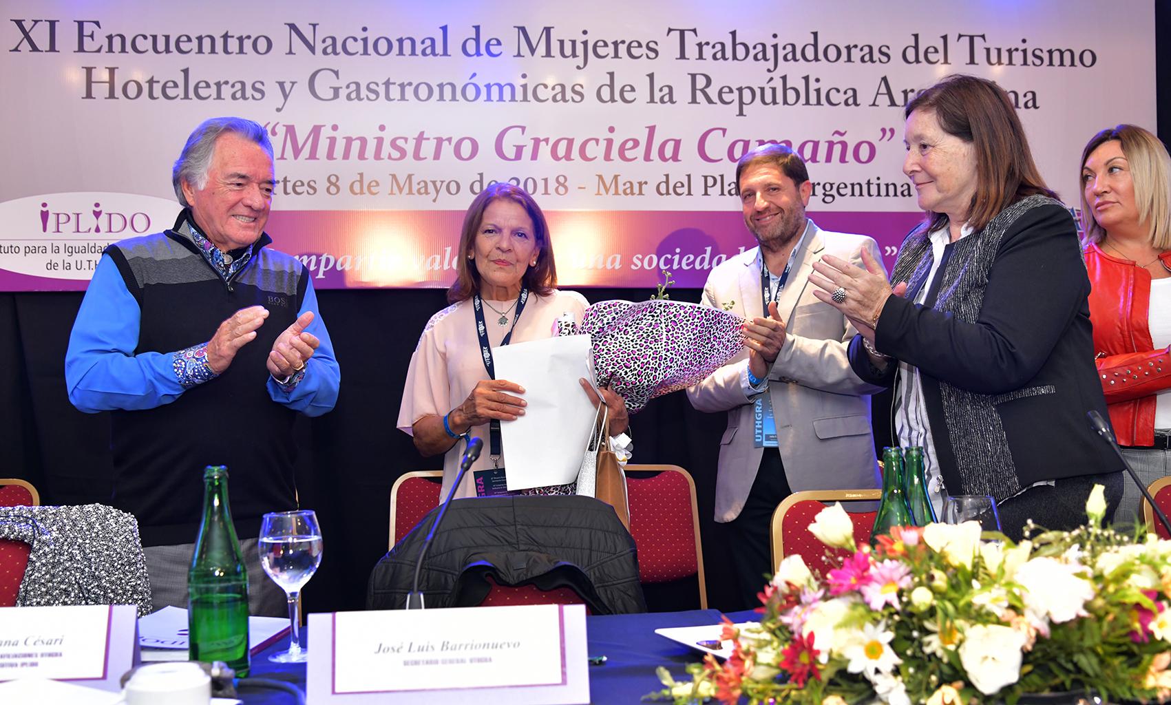 Premio Mujer Trabajadora Edición 2017 Para Juana María Cepeda – Seccional Concordia