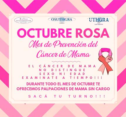 Campaña Rosa Contra El Cancer De Mama