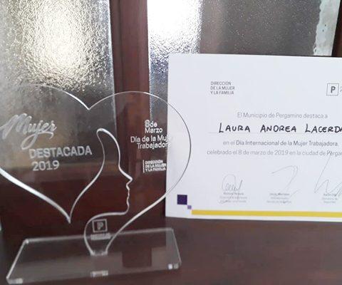 Cra. Laura Lacerda Nombrada «Mujer Destacada 2019» Por La Dirección De Asistencia A La Mujer Y A La Familia