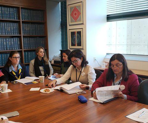 El IPLIDO De La UTHGRA Mantuvo Reuniones De Trabajo En Washington