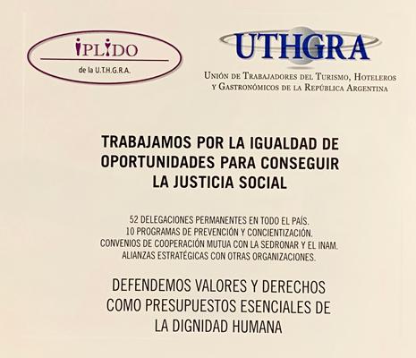 El IPLIDO De La UTHGRA Acompañó En Los Premios Bienal De ALPI