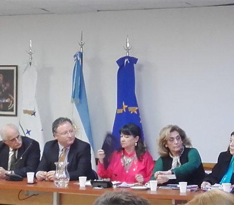 """Nuestro IPLIDO De La UTHGRA En La Jornada De La Fundación Friedrich Ebert Argentina """"La Importancia De La Institucionalización En Los Procesos De Integración"""""""