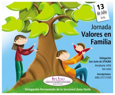 "Jornada ""Valores En Familia"""