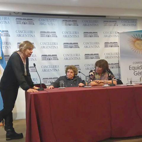 Participamos De La Presentación Del Plan Nacional De Acción Para La Prevención, Asistencia Y Erradicación De La Violencia Contra Las Mujeres En Cancillería De La Nación