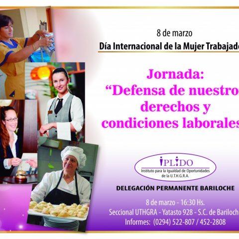 IPLIDO Bariloche. 8 De Marzo. Día Internacional De La Mujer Trabajadora