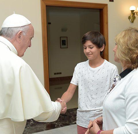 Visita Del IPLIDO Al Papa Francisco