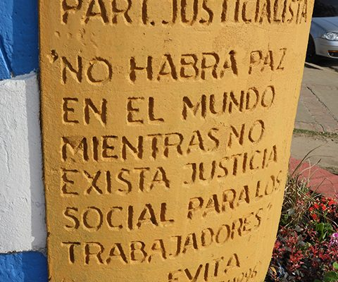 66º Aniversario Del Fallecimiento De Evita