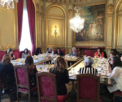 Reunión Mesa De Mujeres Líderes Del Ámbito Sindical En La Residencia Del Embajador De Los Estados Unidos De América