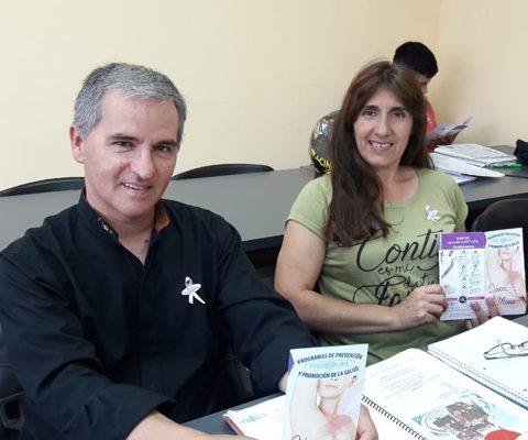 Campaña Contra El Cancer De Mama.