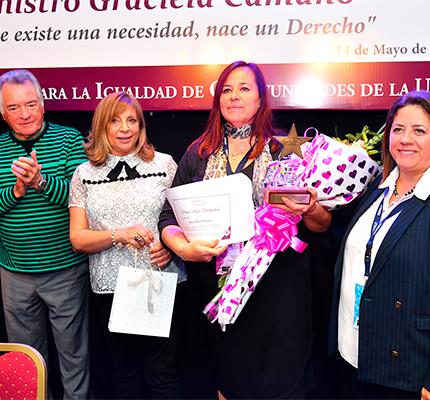 Premio Mujer Trabajadora Edición 2018 Para Silvia Elena Gómez – Seccional Partido De La Costa