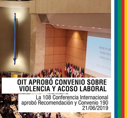 La OIT Aprobó Una Nueva Norma Para Combatir La Violencia Y El Acoso Laboral